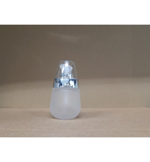 BOCA STAKLENA BC  (pumpica + proziran poklopac)  30 ml