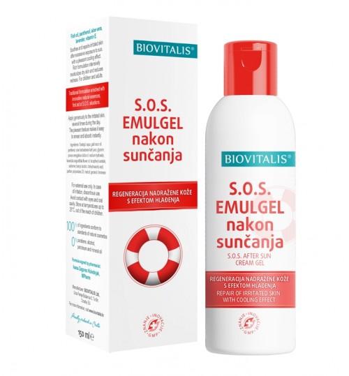SOS emulgel nakon sunčanja Biovitalis