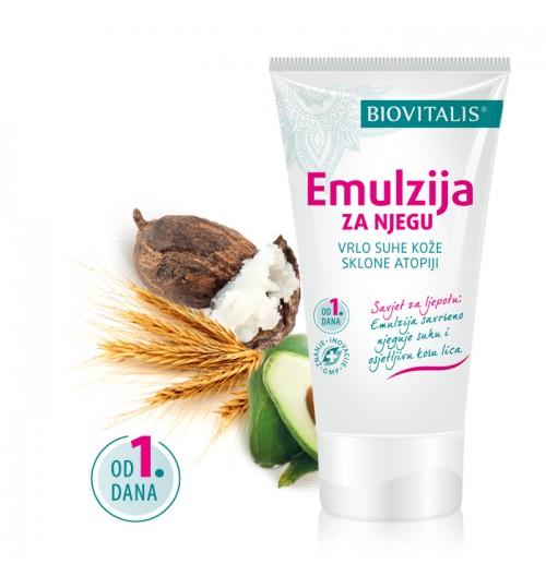 EMOLIUM2 SKIN  50 ml Emulzija za njegu vrlo suhe dječje kože Biovitalis