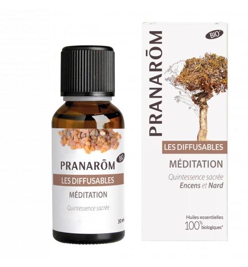 MEDITATION BIO 30 ml (mješavina za difuzer)  Pranarom