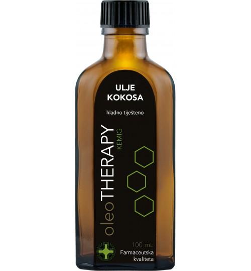 oleoTHERAPY ulje kokosa, hladno tiješteno organsko 100 g  (cocois oleum BIO)