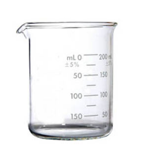Čaša staklena laboratorijska NISKA