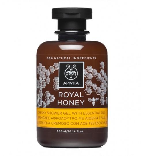 ROYAL HONEY Kremasti gel za tuširanje s esencijalnim uljima