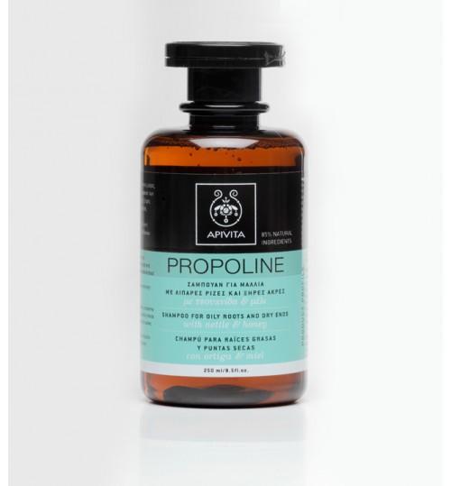 Propoline šampon za masno tjeme i suhe vrhove s koprivom i medom