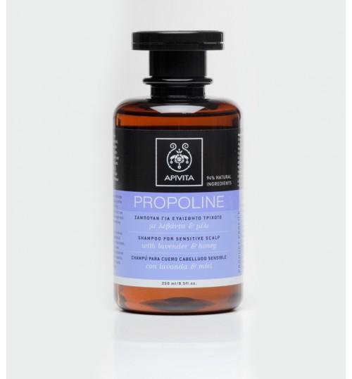 Propoline šampon za osjetljivo vlasište s lavandom i medom
