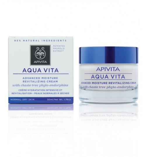 AQUA VITA 24h hidratantna krema za normalnu/suhu kožu s konopljikom i medom