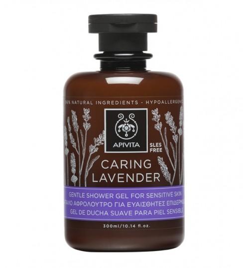 Caring Lavender nježni gel za tuširanje za osjetljivu kožu