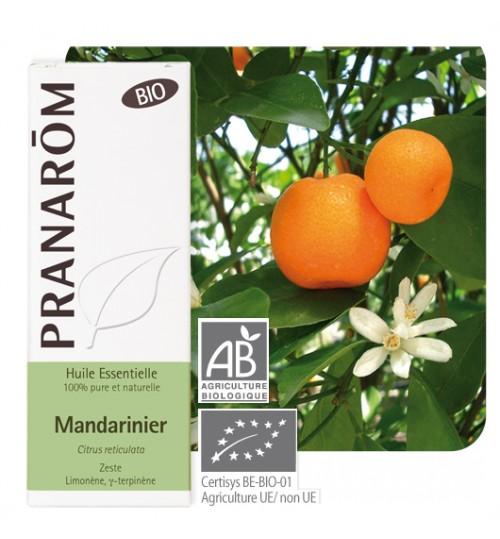 MANDARINA ETERIČNO ULJE  Ecocert (Citrus reticulata zest) Pranarom