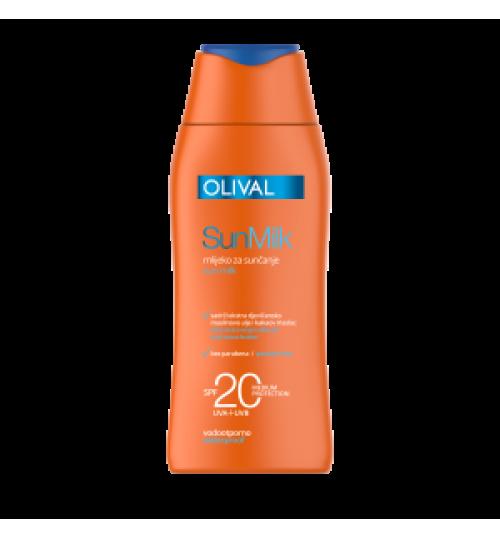 Mlijeko za sunčanje SPF 20  200 ml  OLIVAL