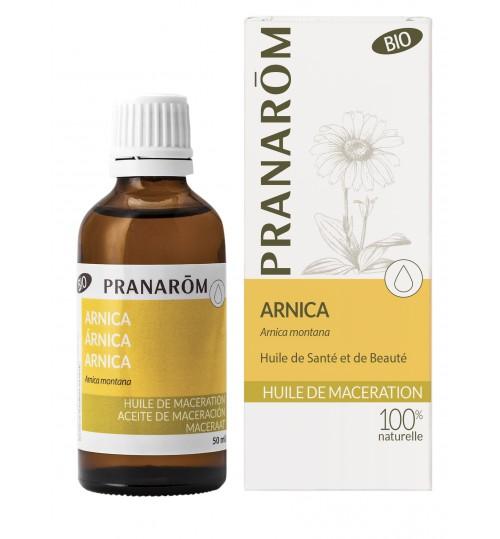 ARNIKA BIO, macerat u maslinovom ulju 50 ml Pranarom (ARNICA OLEUM BIO)