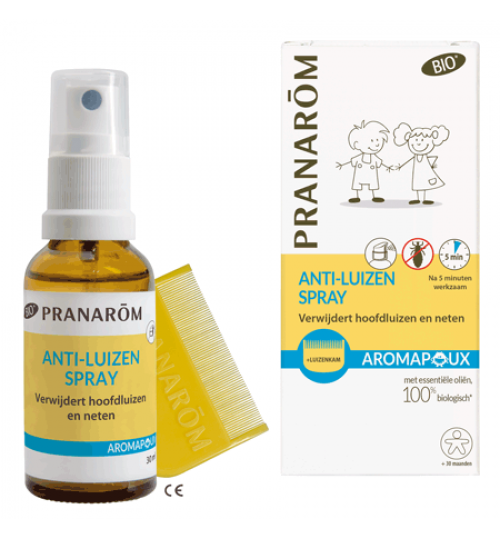 AROMAPOUX MD BIO SPRAY LOSION (+češalj)  a 30 ml Pranarom