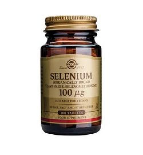 SELEN SOLGAR tbl. 100 x 100 mg