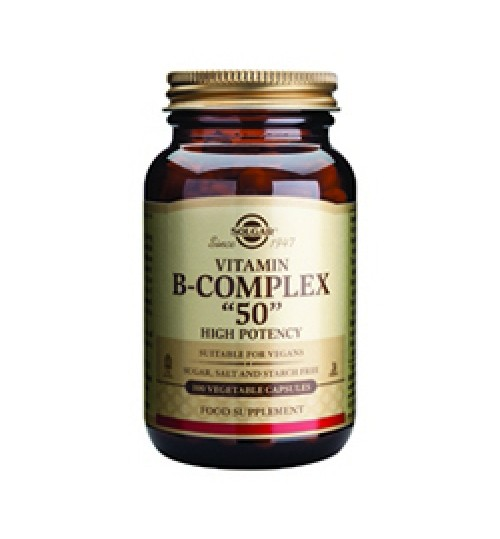 B-COMPLEX 50 SOLGAR