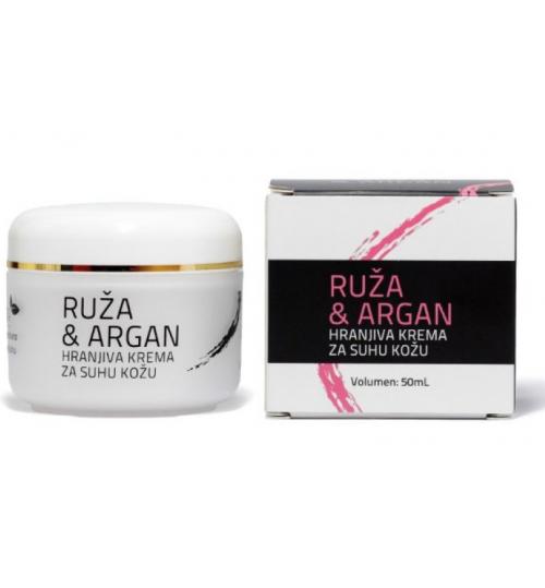 DR.STRIBOR Krema ruža i argan a 50 ml / Suha koža