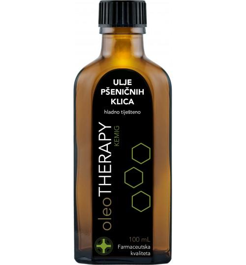 oleoTHERAPY ulje pšeničnih klica, hladno tiješteno 100 ml (tritici aestivi oleum press)