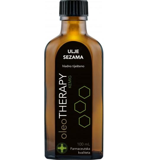 oleoTHERAPY ulje sezama, hladno tiješteno 100 ml (sesami oleum press)