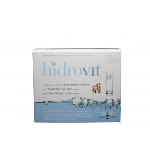 HIDROVIT PRAH 20 vrećica x 5,4 g APIPHARMA