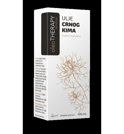 oleoTHERAPY ulje crnog kima, hladno tiješteno 100 ml (nigella sativa oleum press)