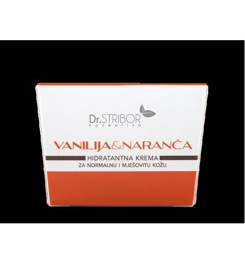 DR.STRIBOR Hidratantna krema vanilija i naranča a 50 ml