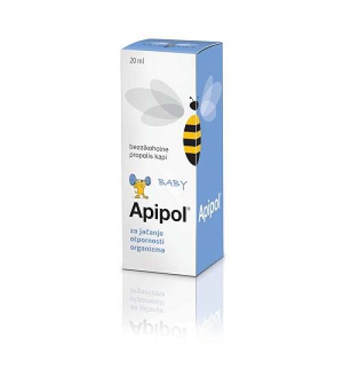 APIPOL BABY KAPI BEZ ALKOHOLA   20 ml APIPHARMA