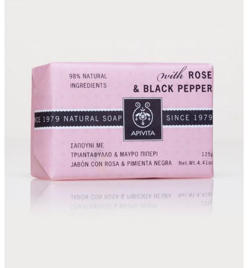 Prirodni sapun Ruža i Crni papar
