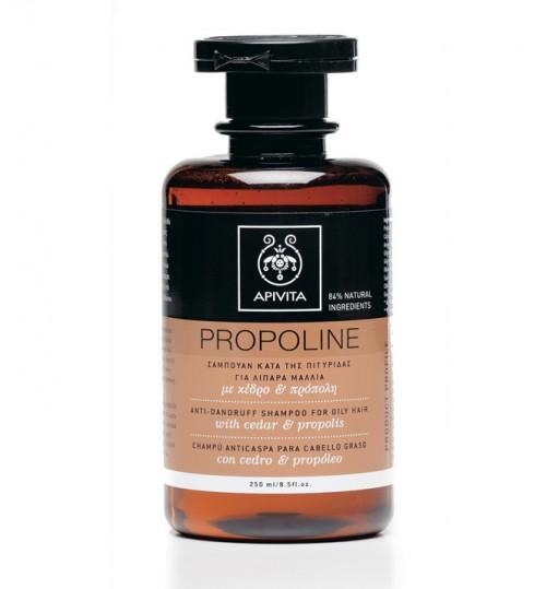 Propoline šampon protiv prhuti za masnu kosu s cedrom i propolisom