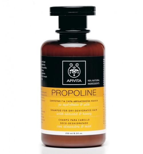 Propoline šampon za suhu-dehidriranu kosu s bademom i medom