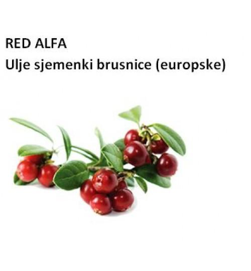 RED ALFA LINGONBERRY SEED OIL (ulje sjemenki brusnice europske - CO2)