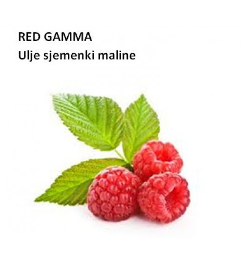 RED GAMMA RASPBERRY SEED OIL (ulje sjemenki maline - CO2)