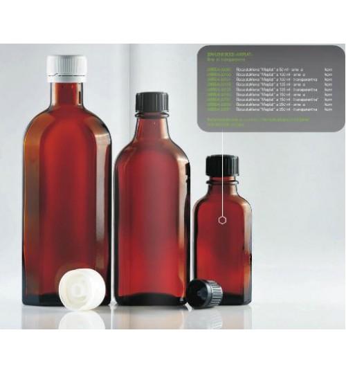 BOCA STAKLENA MEPLAT 100 ml (smeđa)