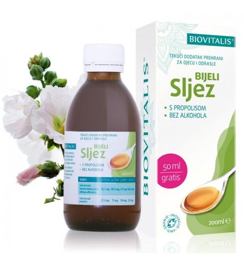 BIJELI SLJEZ  200 ml  Tekući dodatak prehrani Biovitalis