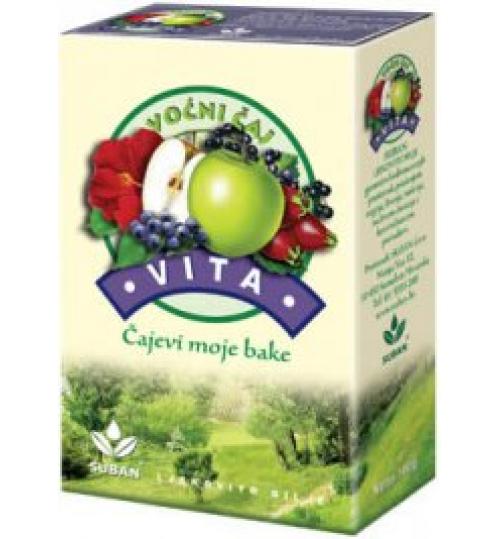 VITA VOĆNI ČAJ a 100 g  Voćna čajna mješavina  Suban