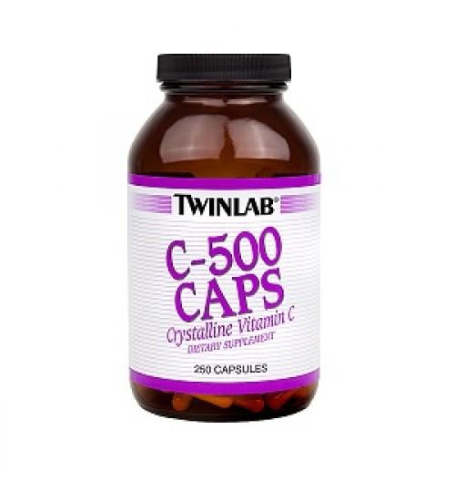 TWINLAB VITAMIN C -500 - kapsule