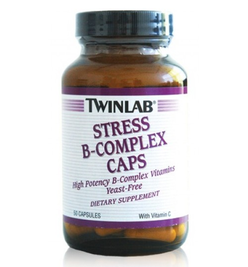 TWINLAB STRES B KOMPLEKS  - kapsule